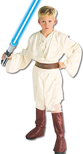 (Obi Wan Kenobi Kostüm für Jungen Deluxe - S 116/122)