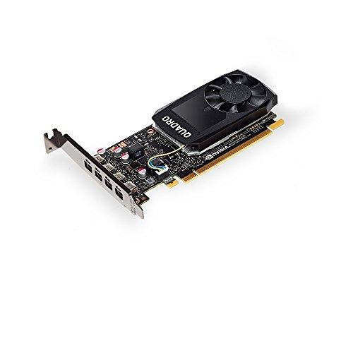 PNY VCQP1000DVI-PB Nvidia Quadro P1000 Grafikkarte (4GB) schwarz - 3