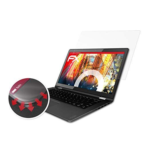 atFolix Schutzfolie passend für Lenovo Yoga 510 14 inch Folie, entspiegelnde & Flexible FX Bildschirmschutzfolie (2X)