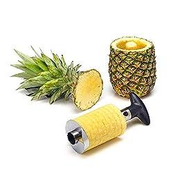 statko® Edelstahl Ananasschneider, Schäler und Entkerner - Über 500 positiven Bewertungen auf Amazon. Com - USA Seite (siehe Hinweis unten) (7,5 cm Klinge)