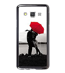PrintVisa Designer Back Case Cover for Samsung Galaxy A3 (2015) :: Samsung Galaxy A3 Duos (2015) :: Samsung Galaxy A3 A300F A300Fu A300F/Ds A300G/Ds A300H/Ds A300M/Ds (pyar prema heart kiss love ishq dil )