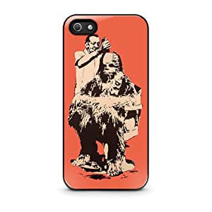 Coque iPhone 4/4s - Funny Chewbacca Star Wars