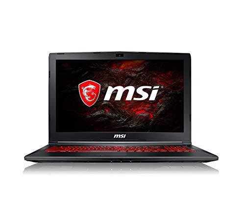 """MSI GL62M 7RDX-1653IT Notebook Portatile, Display 15.6"""", I7-7700HQ, RAM 8 GB, HDD 1024 GB, GTX 1050 [Layout Italiano]"""