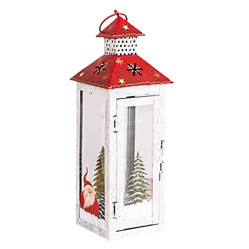 Frohe Weihnachten!!! Windlicht Kerzenhalter Weihnachten Ornamente Schneemann Weihnachtsmann Drucken Dekoration Weihnachtsbeleuchtung Kerzenständer Handwerk Home Decor Von LSAltd
