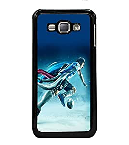 printtech Football Running Game Player Back Case Cover for Samsung Galaxy J1 (2016) :: Samsung Galaxy J1 (2016) Duos with dual-SIM card slots :: Galaxy Express 3 J120A (AT&T); J120H, J120M, J120M, J120T