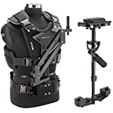 FLYCAM HD-3000 Camera Steadycam System with Comfort Arm and Vest | Table Clamp and Unico Quick Release Plate Supporting Camer
