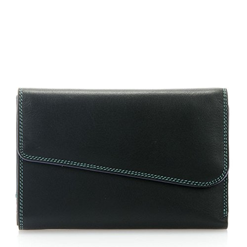 mywalit-melbourne-tri-fold-zip-purse-black-bluebell