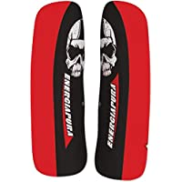 Protecciones Racing energiapura Protec tibia plástico Racing Sr T43cm C38Black/White Skull, negro