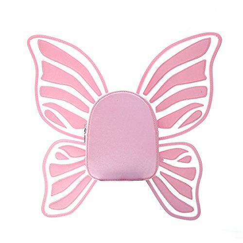 Dabixx Frauen Rucksack Schmetterling Engel Flügel Rucksack für Mädchen ()