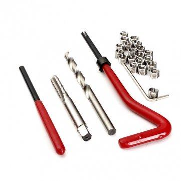 High Quality 25 Stück Helicoil Gewindereparatur Recoil Insert Kit M6 x 1 - Recoil Insert Kit