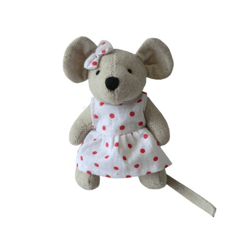 mouse-small-girl-with-bow-10cm-powell-craft