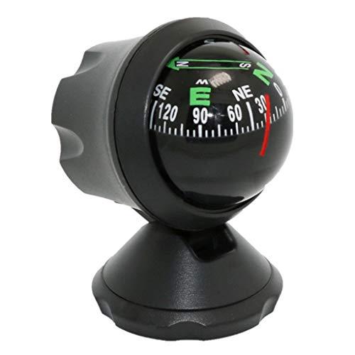 YTBLF Outdoor Boot Kompass Ball, einstellbare Auto Führungsball, tragbare Marine Instrument Board Ball Kompass