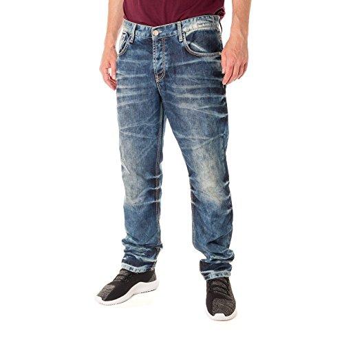 Cipo & Baxx Herren Jeans / Set Fit Jeans Stevenage blau W 31 L 32