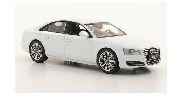 Audi A8 D4 Weiss Modellauto Fertigmodell Kyosho 1 43 Spielzeug