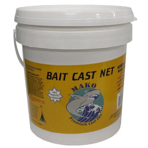 Lee Fisher Mono Cast Net 8 Feet 3/8 Inch CBT-S8 by Sportsman Supply Inc. (8' Cast Net 3/8)