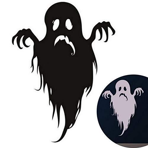 Wandaufkleber Halloween Decpration Wandaufkleber Home Diy Cartoon Geist Wandaufkleber Kopf Wandaufkleber Schlafzimmer - Halloween-geister-baum Diy
