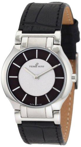 Pierre Petit - P-799A - Montre Femme - Quartz Analogique - Bracelet Cuir Noir