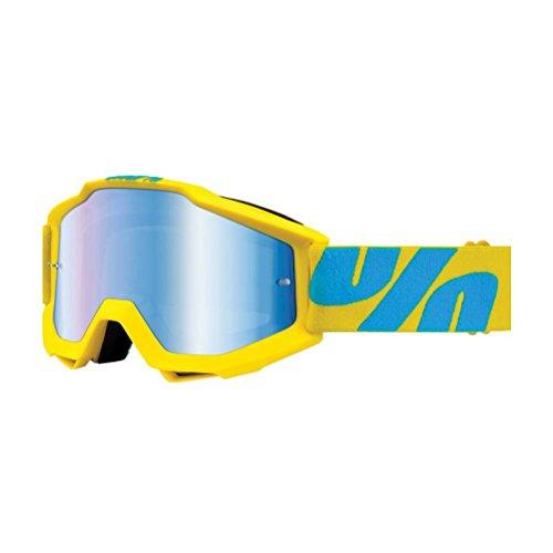 100% Prozent Accuri Goggle Brille Verspiegelt DH MTB MX Downhill Mountain Bike Moto Cross, HU-GOG-0020, Modell Fiji