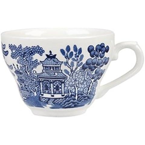BWLGTC71 Churchill China-Tazza da tè in stile georgiano, 7 ml/19,8 cL, colore: blu salice