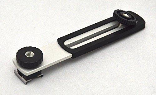 Lega Phot-R professionale Foto / Video in alluminio orizzontale Camera Flash Flashgun Braccio supporto della staffa con Hot-Shoe con 1/4