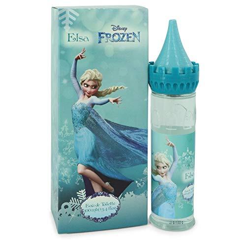 Disney Frozen Elsa by Disney Eau De Toilette Spray (Castle Packaging) 3.4 oz / 100 ml (Women) -