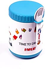 Farlin 500cc Yammy Warmer Can and Baby Food Storage Container Large (Blue)