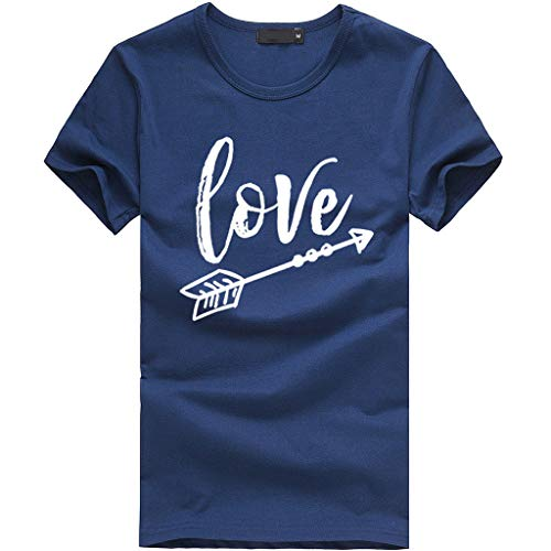 Ba Zha Hei1 PC New Mode Frauen Beste Freund Buchstaben Rose gedruckt T Shirts Best Friends Sister Damen T-Shirt Aufdruck Mädchen Sommer Oberteile Top Mode Sehr Angenehm zu ()