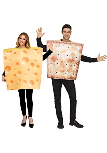 Couples Cheese & Cracker Fancy Dress Costume Set