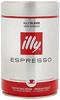 Illy Espresso Medium Roast Ground Coffee, 250g by illy