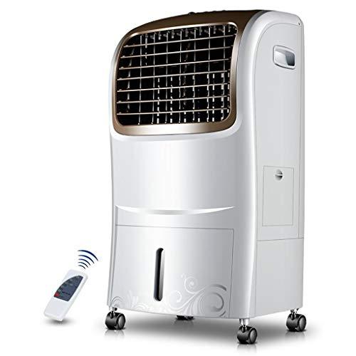 HYXLFJ Klimageräte Zeitschaltuhr Klimaanlage Ventilator Fernbedienung Haushalt Kühlventilator Einzel-Kühlventilator Mobile Kleine Klimaanlage Wassergekühlter Luftventilator