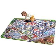"""Casa de Niños (hov0p) """"distrito"""" Ultra suave alfombra, multicolor, 130x 180x 0,76cm"""