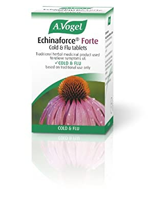A Vogel 750 mg Echinaforce Forte Cold and Flu 40 Tablets from A.Vogel