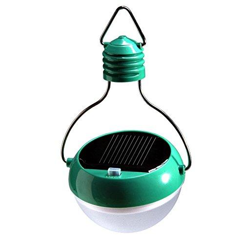 Notfall-licht-kit ((nijiadipai) LED Solarleuchten Eco Plus Wasserdicht & Tragbares Solar Powered LED Laterne/Leuchtmittel. Sein, für Notfälle ein Muss für alle Überleben und Notfall-Kits & Solar Camping Licht, Zelt Beleuchtung, Lesen, Lernen Lichtern. (weißes Licht) grün)