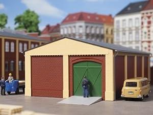 Auhagen HO Gables y pilares de Esquina Corto de Color Amarillo (12 PC)