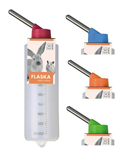 Kleintiertränke Nagertränke aus Kunststoff - FLASKA - 250 ml z.B. Meerschweinchen