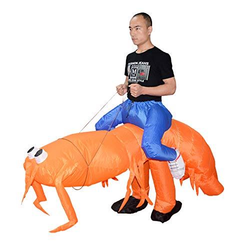 Asitlf Blow up Kostüm, Cosplay Kostüm Jumpsuit Erwachsene aufblasbare Kostüm Halloween Dress Up (Fett Blow Up Kostüm)