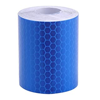 Ajusen Safety Mark Reflective tape stickers car-styling 5cm*3m Self Adhesive Warning Tape Automobiles Motorcycle Reflective Film