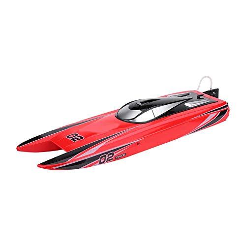 Dilwe RC Boot, V792-4 2,4 GHz Hoch Geschwindigkeit 1800KV Brushelss Wasserdichte Elektrische Fernbedienung Rennboot Spielzeug