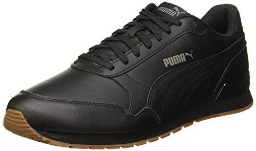 Puma Unisex-Erwachsene ST Runner v2 Full L Sneaker, Black-Castlerock White 08, 9 EU