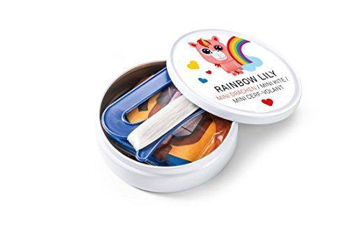 Preisvergleich Produktbild Donkey Lenkdrache aus der Dose, Rainbow Lily, Mini Kite 340003