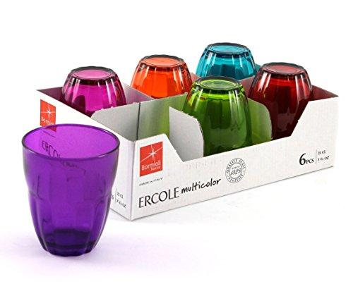 Bormioli Ercole Confezione Bicchieri, 5 cm, 6 unità