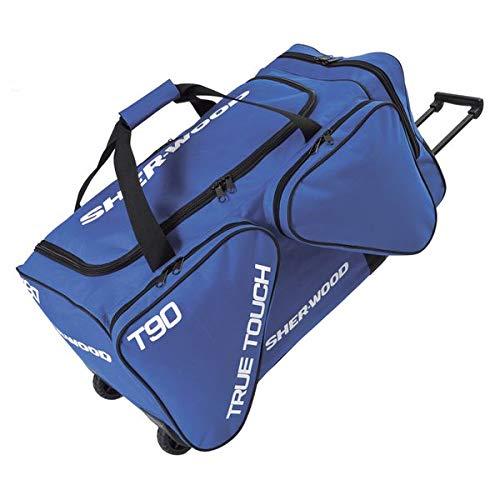 SherWood Eishockeytasche Project 9 Für Eishockeyausrüstung, Blau, 230 Liter