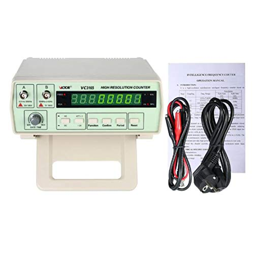 RuoShui 3165 Digitale Hochpräzise Hochfrequenzzähler Prüfgerät 0,01 Hz - 2,4 GHz Frequenz Monitor Zähler Tester - Breite Zähler Einheit