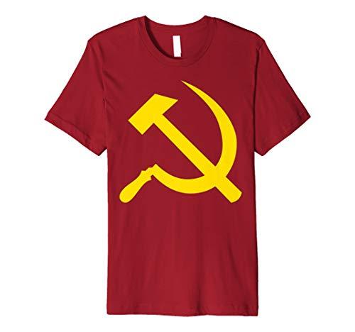 Sozialismus T-Shirt Kommunist Geschenke Hammer und Sichel Preisvergleich