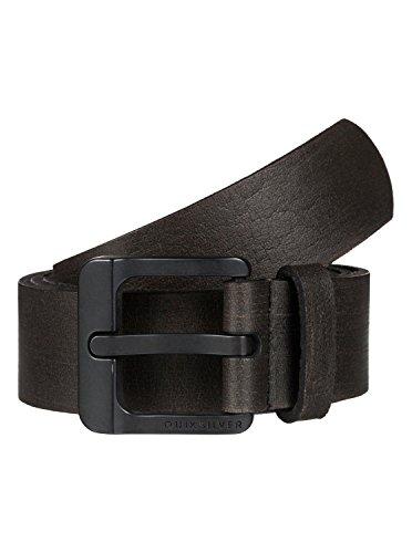 QUIKSILVER Gutherie - Leather Belt - Ledergürtel - Männer - L-36 - Schwarz