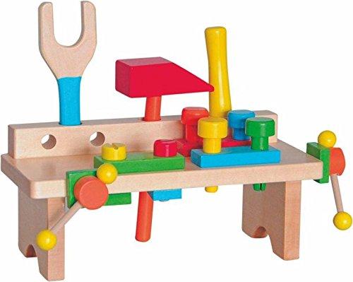 WERKZEUG WERKZEUGBANK HAMMERBANK WERKBANK HOLZ Holzspielzeug Kinderland