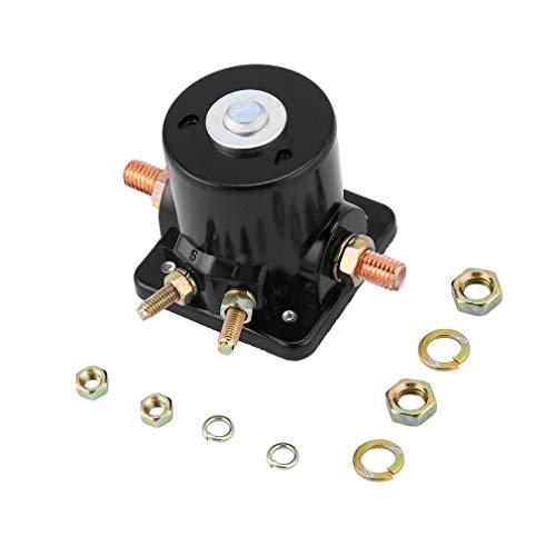Leoboone Hochwertige Neue Metall Starter Magnetschalter Relais für Johnson OMC Evinrude Außenborder 12 V Balck Perfekt Fit In -
