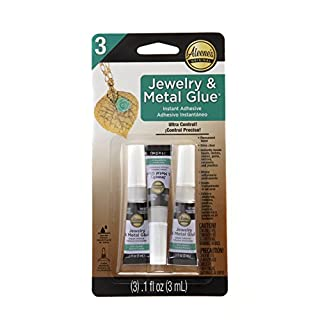 Aleene's Platinum Bond Industrial Strength Multi Jewelry (Metal Pack of 3)