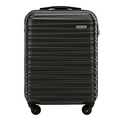 Wittchen Stabiler Koffer-Trolley Handgepäck von WITTCHEN ABS 54 x 38 x 20 cm 2.6 kg 34 L   Bordgepäck Bordcase 56-3A-311-10