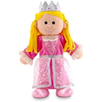 Fiesta Crafts Tellatale - Marionetta a mano, principessa - Mano Crafts